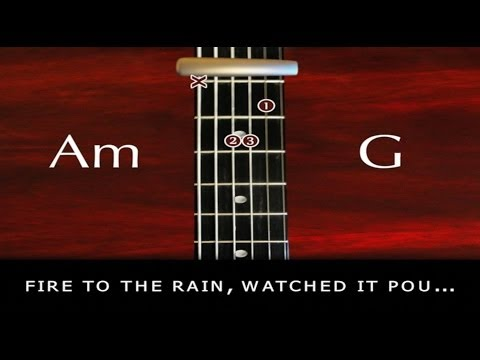 Learn how to Play - Set Fire To The Rain -Adele - with chords and lyrics