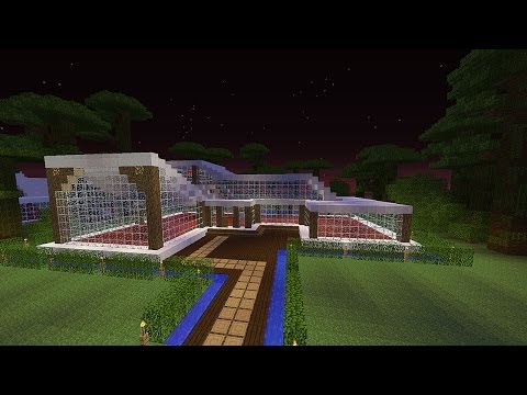 Full download como hacer casa moderna en minecraft tama for Como construir una casa moderna