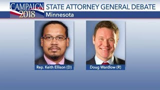 Minnesota Attorney General Debate Keith Ellison vs Doug Wardlow  Oct 21 2018