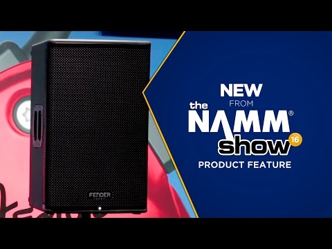 Live at NAMM 2016 - Fender Fortis F-15BT 2-Way Powered Speakers