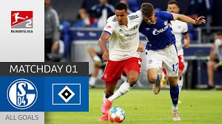 Comeback win in opening night | Schalke 04 - Hamburger SV 1-3 | All Goals | MD 1 – Bundesliga 2