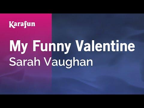 Karaoke My Funny Valentine - Sarah Vaughan *