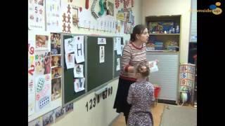 Занятие группы подготовки к школе. Урок чтения