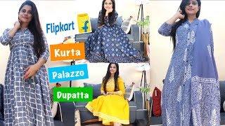 FLIPKART AND MYNTRA DIWALI SALE KURTI HAUL | Sana K