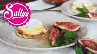 Käsekuchenmuffins mit Feige, Minze & Honig / fruchtig, cremig, einfach, lecker! / Sallys Welt