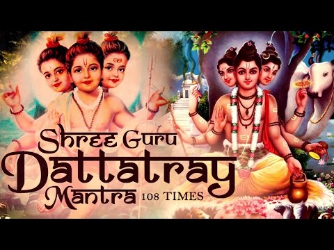 SHREE GURU DATTATREYA MANTRA BY SADHANA SARGAM - VERY POWERFUL MANTRA -  DATTA MANTRA