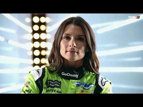 Danica Patrick's Final NASCAR race - Jamie Little interview