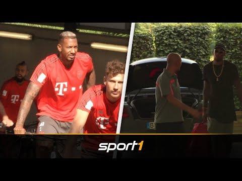 Mit Boateng und Lewandowski: Nationalspieler des FC Bayern starten ins Training | SPORT1