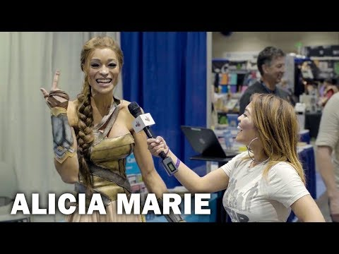 ALL ACCESS COMIC CON: With Alicia Marie