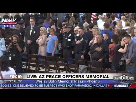 WATCH: Arizona State Peace Officers Memorial Ceremony (FNN)