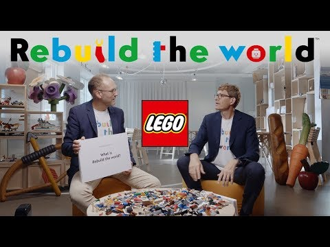 What is LEGO's Rebuild the World campaign all about?