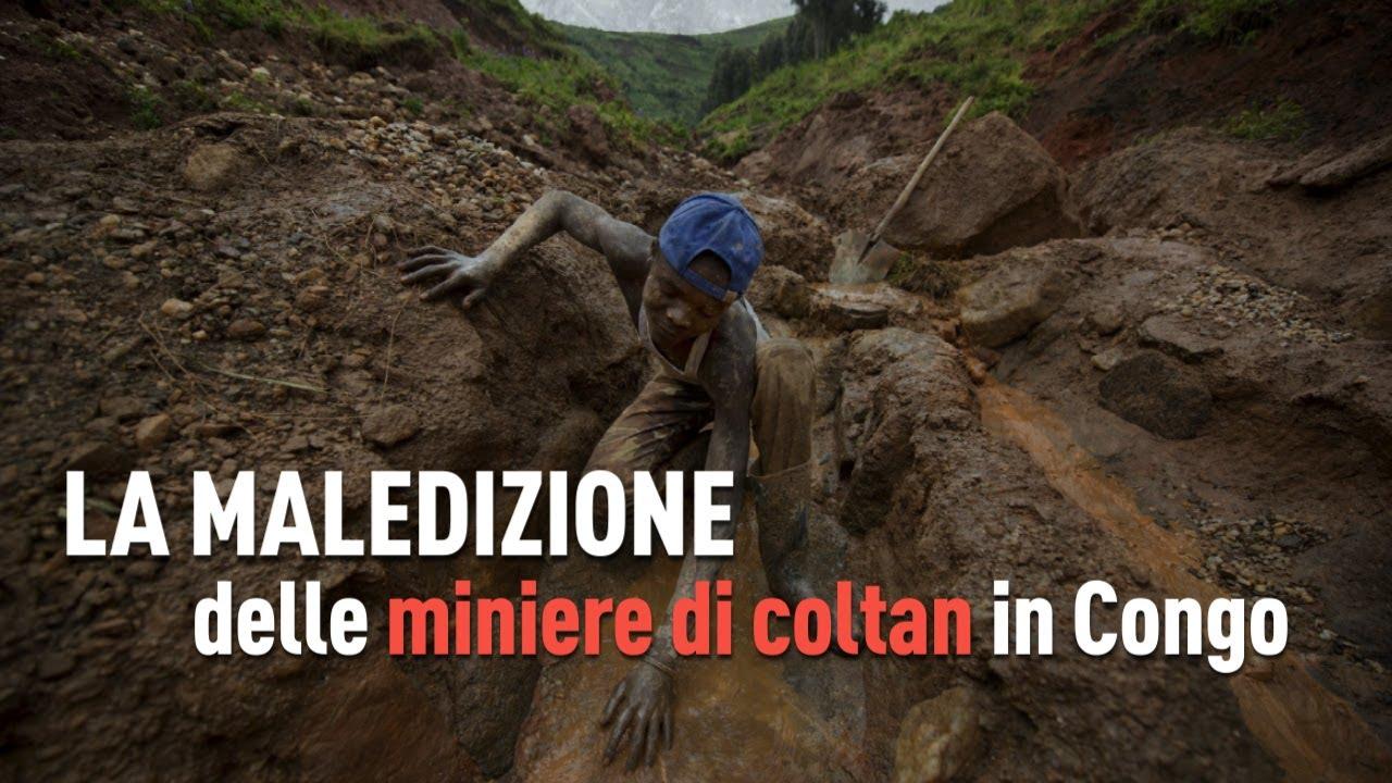 La maledizione delle miniere di coltan in Congo