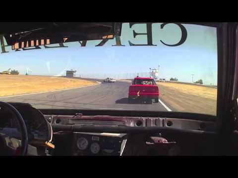 Spins, Crashes and a Car on Fire - LeMons Thunderhill 2012