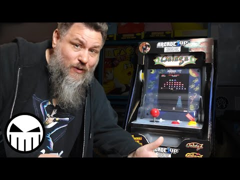 Arcade1Up Galaga Countercade (Unboxing) from The Crow Continuum