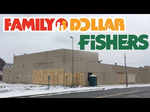 INSIDE The ABANDONED FISHERS FOODS - Soon To Become Family Dollar