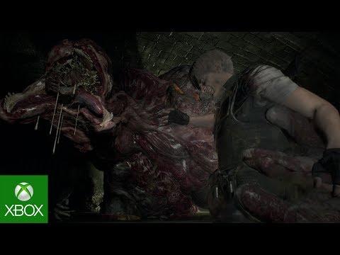 Resident Evil 2: Leon Gameplay – Familiar Faces thumbnail