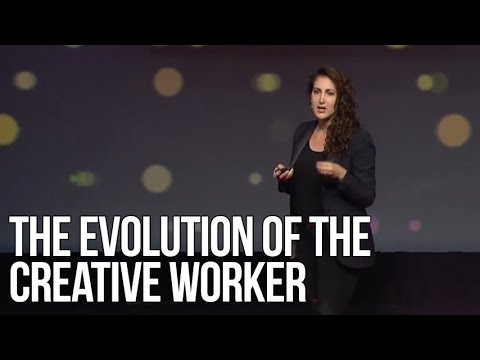 The Evolution of the Creative Worker | Rahaf Harfoush