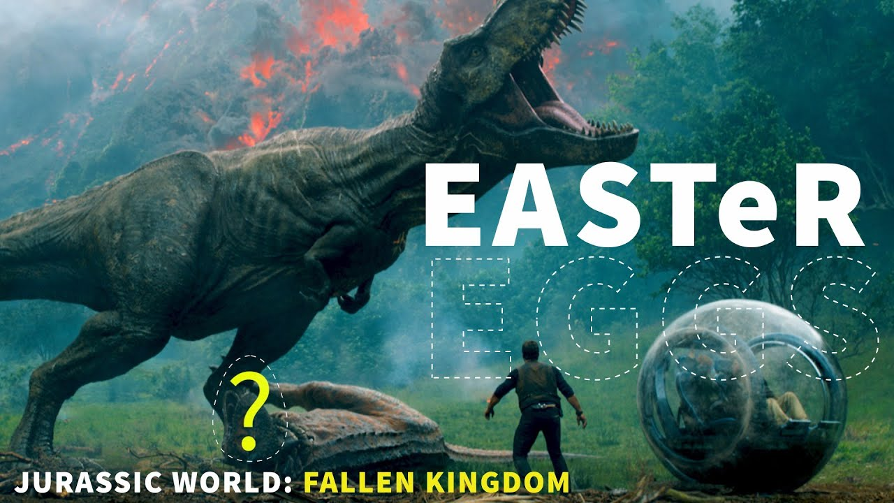 Jurassic world fallen kingdom easter eggs fun facts for Easter egg fun facts