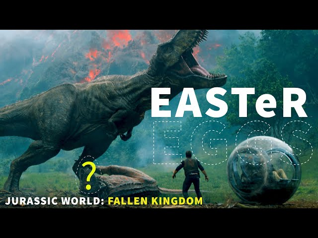 Jurassic World: Fallen Kingdom Easter Eggs & Fun Facts | Rotten Tomatoes