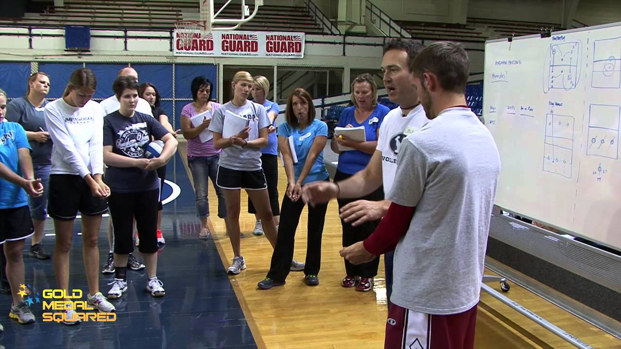 Passing Key #1 - Gold Medal Squared Volleyball - YouTube