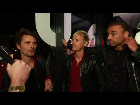 StubHub Q Awards 2016 Interviews: Muse winners of Q Best Act In The World Today