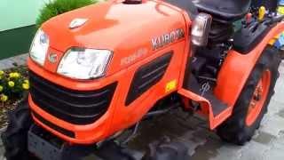 Kubota B1620 miniciągnik ogrodniczy. www.traktorki.waw.pl
