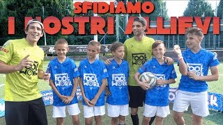 SFIDA EPICA con i NOSTRI ALLIEVI !! FOOTWORK CHALLENGE !