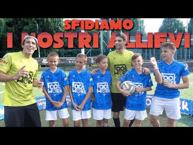 SFIDA EPICA con i NOSTRI ALLIEVI !! FOOTWORK CHALLENGE !