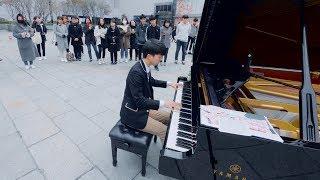 핵인싸의 스케일이 다른 길거리 피아노 버스킹 ㄷㄷ (김광연)