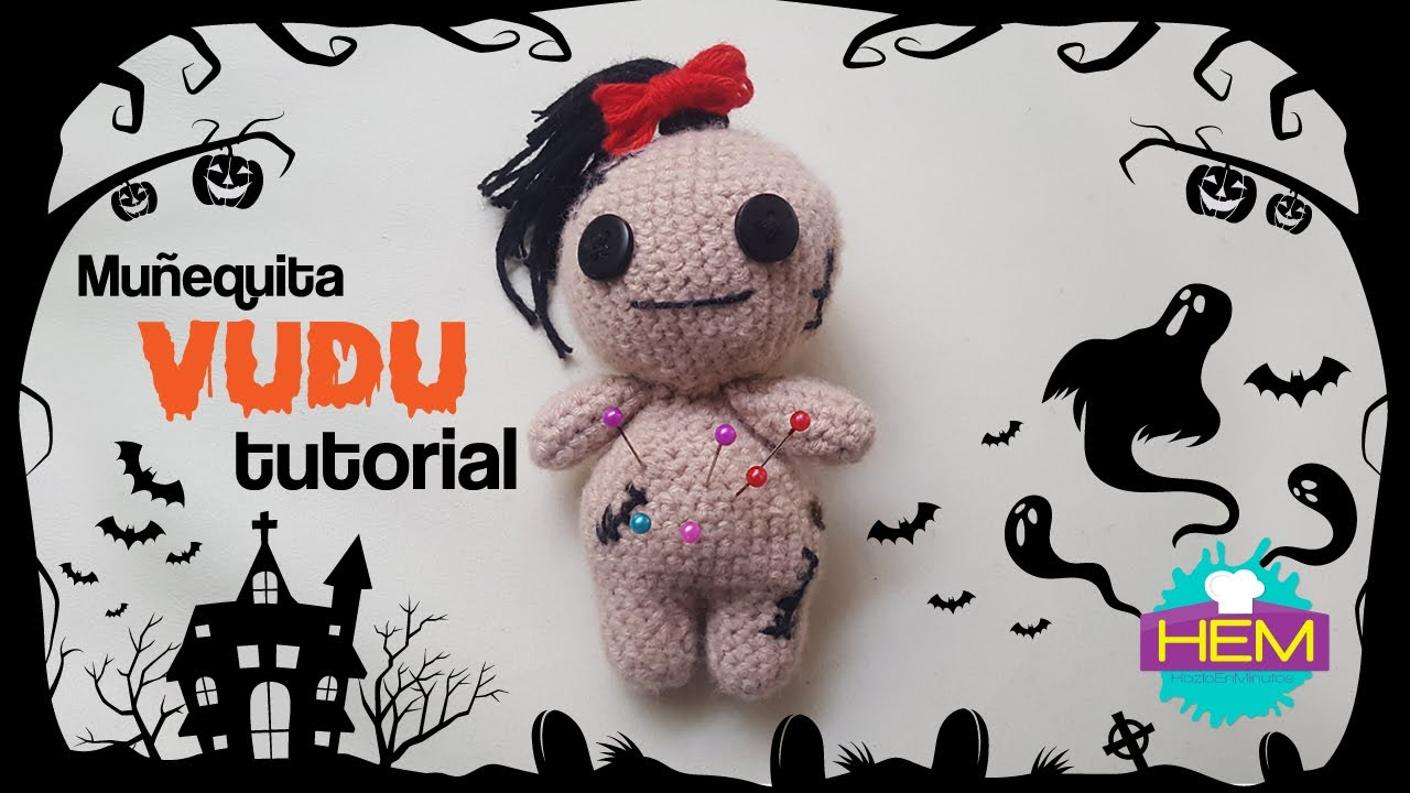 Voodoo doll, crochet handmade, 1 pc Amigurumi MEDIUM | eBay | 720x1280