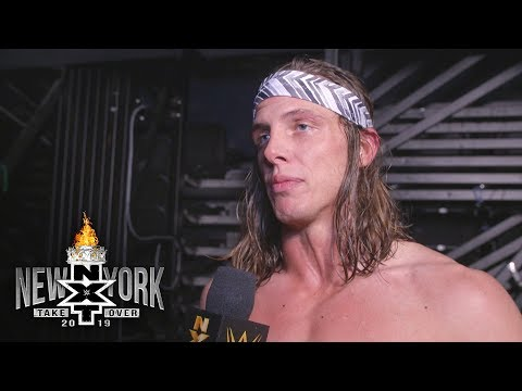 Matt Riddle reacts after his first loss in NXT: WWE Exclusive, April 5, 2019