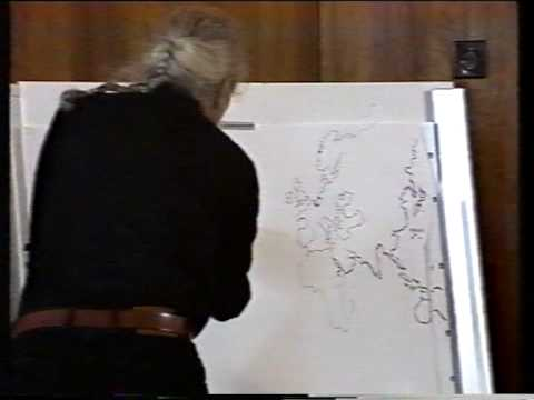 Stan Hugill at the International Shanty Festival Workum 1990 part 3 of 4