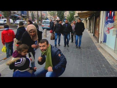Walking Through the Streets of Amman, Jordan Unedited