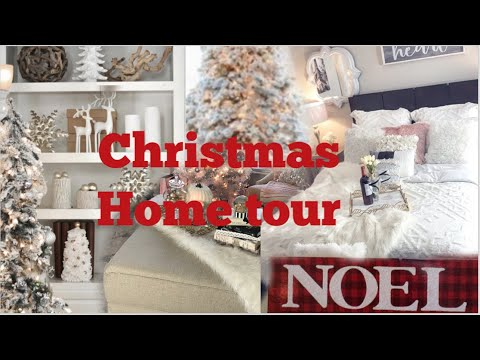 GLAM CHRISTMAS HOME TOUR | BEAUTIFUL DECOR ON A BUDGET | VLOGMAS 2019