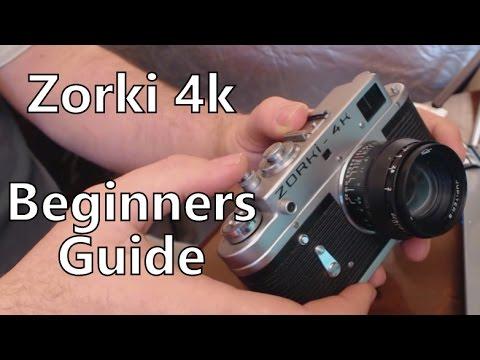 Zorki 4k Rangefinder 35mm Film Camera Beginners Guide