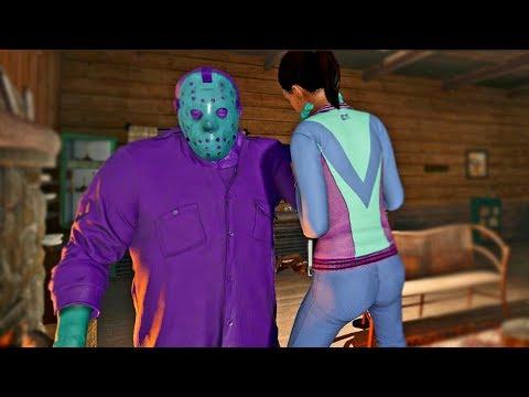 Friday the 13th the game - DLC Retro Jason aka Codeine Jason