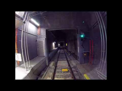 Koko Helsingin metrolinja 8x nopeudella. Full journey of Helsinki metro at 8x speed.