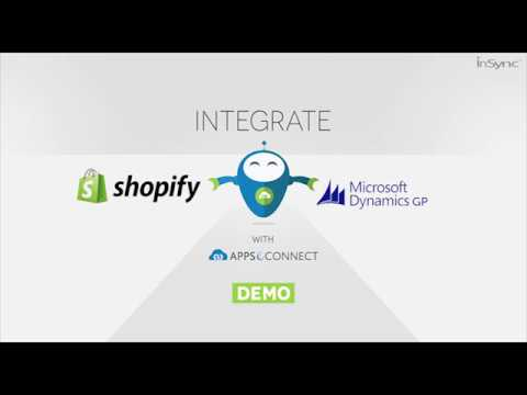 Microsoft Dynamics GP and Shopify Integration | APPSeCONNECT