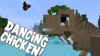 minecraft attack of the b team dancing chicken 26