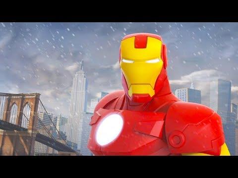 Iron Man Cartoon Game Videos For Kids Video Games For Children Disney Infinity 2 0 Youtube