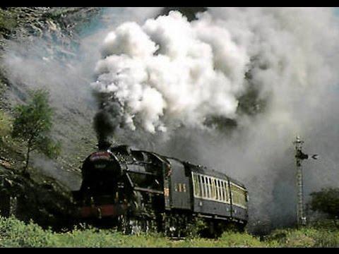 Steam Trains Glenfinnan Viaduct West Highlands Railway Scotland