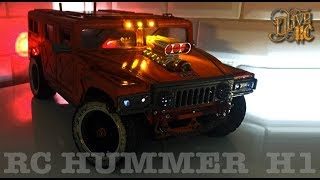 RC HUMMER H1 - Homemade ABS body