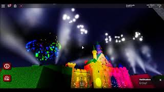 Disneyland Wales Fireworks | Roblox