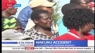 Two people die in Nakuru-Eldoret Highway accident