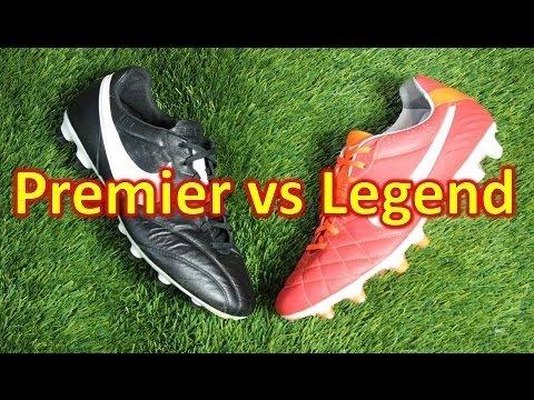 488408c3a7e0 Nike Premier VS Nike Tiempo Legend 4 IV - Comparison Review - YouTube