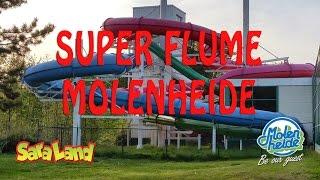 Rode gijbaan, Super Flume on-slide Moleheide