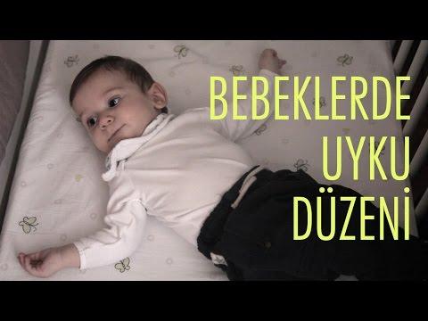 Bebeklerde Uyku Düzeni    Acemi Anne