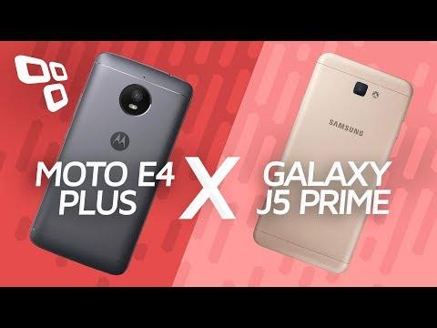 Motorola Moto E4 Plus vs. Samsung Galaxy J5 Prime - Comparativo - TecMundo
