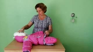Зимняя одежда для девочки и детские платья на лето, распаковка заказа / #8