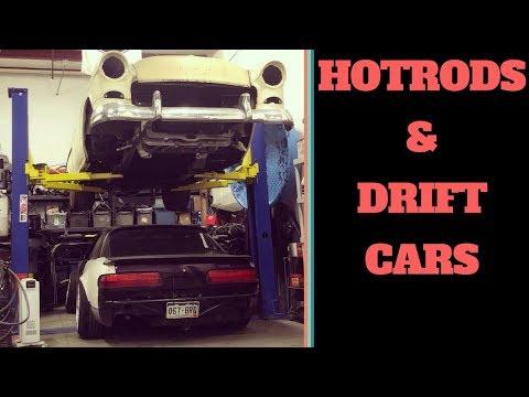 Cutting a 55 Chevy IN HALF!!! & some Drift Car Prep.
